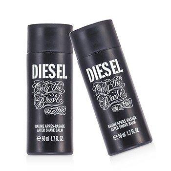 Diesel Only The Brave Tattoo Бальзам после Бритья Двойная Упаковка (Без Коробки) 2x50ml/1.7oz