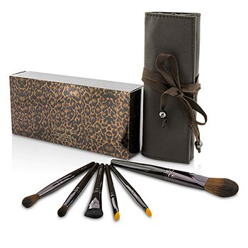 Laura Mercier Brush It On Набор Кистей (6x Кисть, 1x Футляр) 6pcs+1case