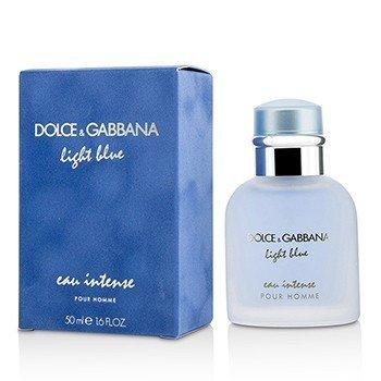 Dolce  Gabbana Light Blue Eau Intense Pour Homme Eau De Parfum Spray 50ml/1.6oz
