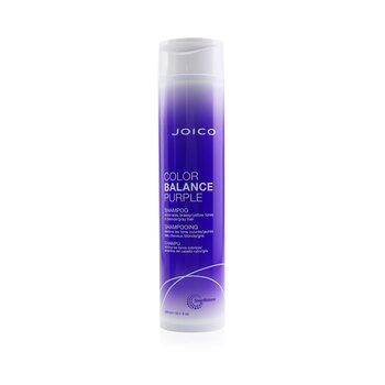 Color Balance Purple Shampoo (Eliminates Brassy/Yellow Tones on Blonde/Gray Hair) (300ml/10.1oz)