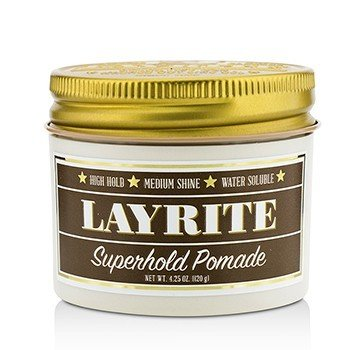 Superhold Pomade (High Hold, Medium Shine, Water Soluble) (120g/4.25oz)
