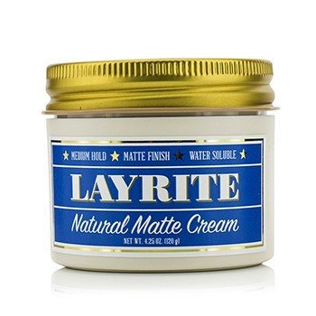 Natural Matte Cream (Medium Hold, Matte Finish, Water Soluble) (120g/4.25oz)