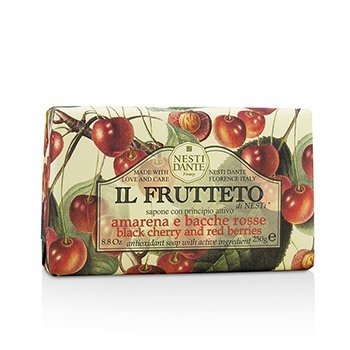 Il Frutteto Antioxidant Soap - Black Cherry & Red Berries (250g/8.8oz)