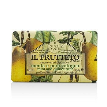 Il Frutteto Purifying Soap - Mint & Quince Pear (250g/8.8oz)