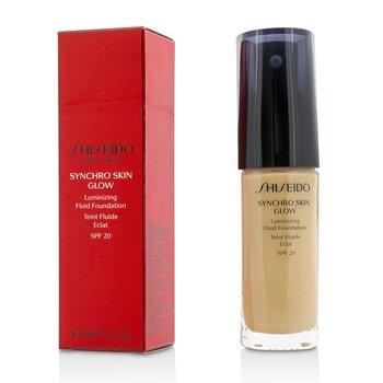 Shiseido Synchro Skin Glow Сияющая Основа Флюид SPF 20 - # Neutral 3 30ml/1oz