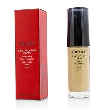 Shiseido Synchro Skin Glow Сияющая Основа Флюид SPF 20 - # Golden 2 30ml/1oz