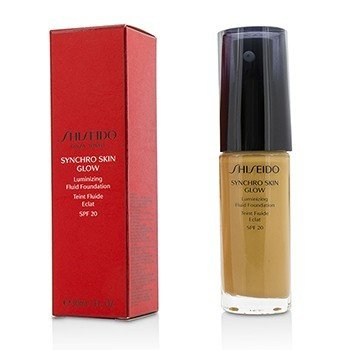 Shiseido Synchro Skin Glow Сияющая Основа Флюид SPF 20 - # Golden 5 30ml/1oz