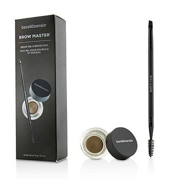 Brow Master Duo (Brow Gel & Brush) - Universal Taupe (3g/0.11oz)