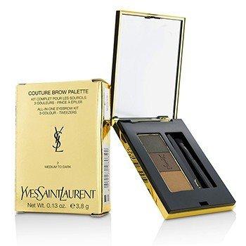 Yves Saint Laurent Couture Набор для Бровей - #2 Medium To Dark 3.8g/0.13oz