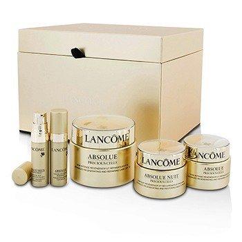 Lancome Absolue Precious Cells Набор: Восстанавливающий Крем SPF 15 50мл и 15мл + Ночной Крем 15мл + Сыворотка 5мл + Концентрат для Глаз 5мл 5pcs