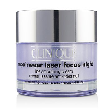 Repairwear Laser Focus Night Line Smoothing Cream - Combination Oily To Oily (50ml/1.7oz)