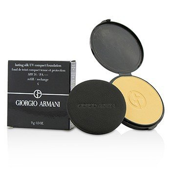 Giorgio Armani Lasting Silk UV Компактная Основа SPF 34 (Запасной Блок) - # 4 (Warm Beige) 9g/0.3oz