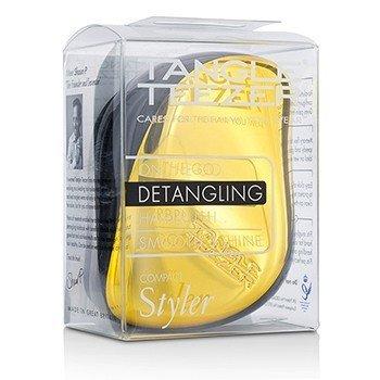 Tangle Teezer Compact Styler On-The-Go Распутывающая Щетка для Волос - # Bronze Chrome 1pc