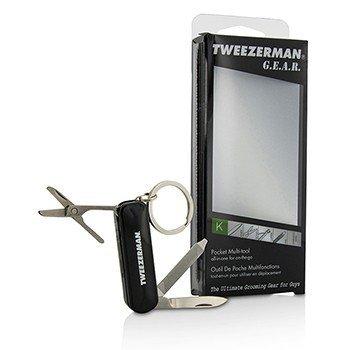 Tweezerman G.E.A.R. Карманный Инструмент (Складные Щипчики для Ногтей, Пилочка, Ножницы для Волос в Носу, Карманный Нож) 1pc
