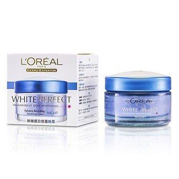 LOreal Dermo-Expertise White Perfect Успокаивающий Ночной Крем (Срок Годности 01/2018) 50ml/1.7oz