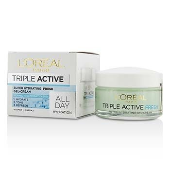 Triple Active Super Hydrating Fresh Gel-Cream - For Normal To Combination Skin (50ml/1.7oz)