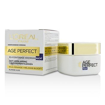 Age Perfect Re-Hydrating Night Cream - For Mature Skin (50ml/1.7oz)