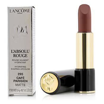 L' Absolu Rouge Hydrating Shaping Lipcolor - # 295 Cafe Parisien (Matte) (3.4g/0.12oz)