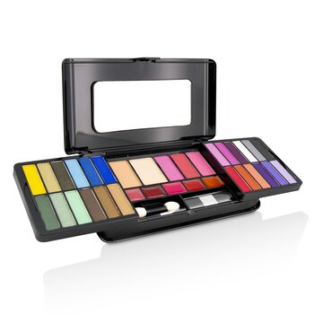 MakeUp Kit Deluxe G2215 (24x Eyeshadow, 3x Blusher, 2x Pressed Powder, 5x Lipgloss, 2x Applicator) (10g/0.33oz)
