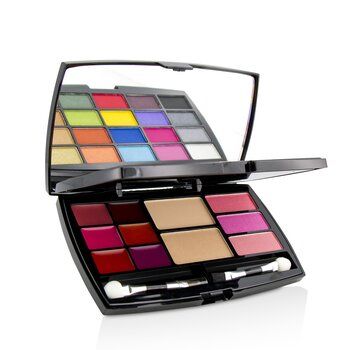 MakeUp Kit Deluxe G2127 (20x Eyeshadow, 3x Blusher, 2x Pressed Powder, 6x Lipgloss, 2x Applicator) (10g/0.33oz)