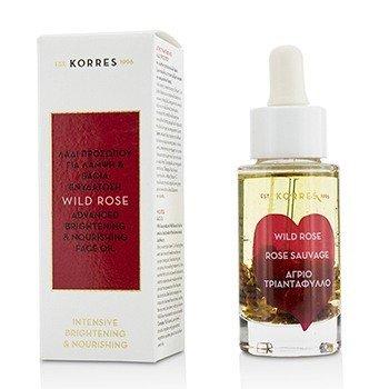 Korres Wild Rose Осветляющее и Питательное Масло для Лица 30ml/1.01oz