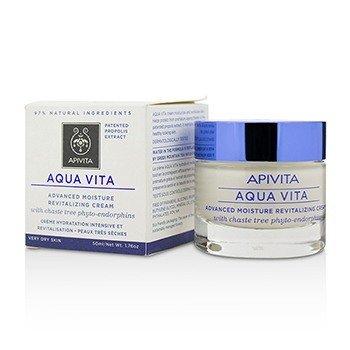 Apivita Aqua Vita Увлажняющий Восстанавливающий Крем - для Очень Сухой Кожи 50ml/1.76oz