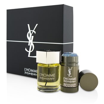 L'Homme Coffret: Eau De Toilette Spray 100ml/3.3oz + Deodorant Stick 75g/2.6oz (2pcs)