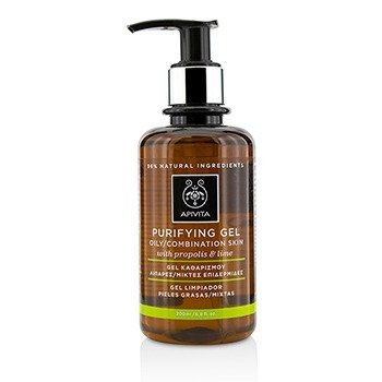 Purifying Gel With Propolis & Lime - For Oily/Combination Skin (200ml/6.8oz)