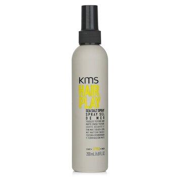 KMS California Hair Play Спрей с Морской Солью (Небрежная Текстура и Матовый Результат) 200ml/6.8oz