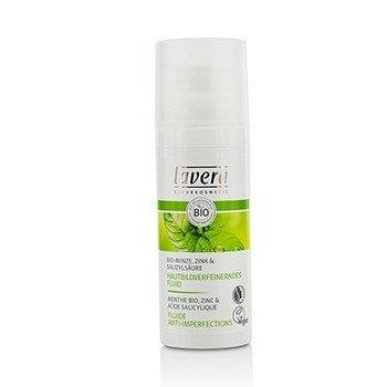 Lavera Organic Mint Очищающий Увлажняющий Флюид (Без Коробки) 50ml/1.6oz