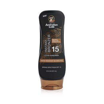 Lotion Suncreen With Bronzers SPF 15 (237ml/8oz)