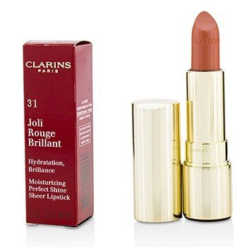 Joli Rouge Brillant (Moisturizing Perfect Shine Sheer Lipstick) - # 31 Tender Nude (3.5g/0.1oz)