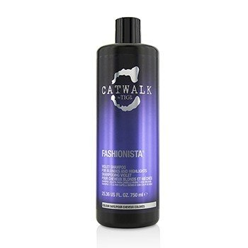 Catwalk Fashionista Violet Shampoo (For Blondes and Highlights) (750ml/25.36oz)