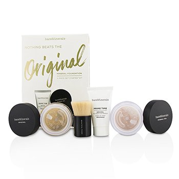 Get Started Mineral Foundation Kit - # 08 Light (4pcs)