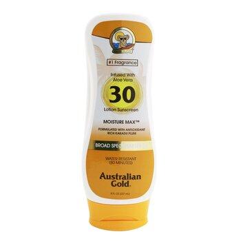 Lotion Sunscreen Moisture Max Broad Spectrum SPF 30 (237ml/8oz)