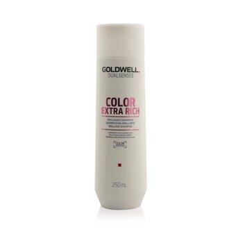 Goldwell Dual Senses Color Extra Rich Шампунь для Блеска (Сияние для Жестких Волос) 250ml/8.4oz