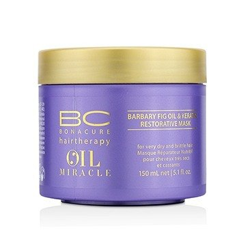 Schwarzkopf 施華蔻 BC Oil Miracle Barbary Fig Oil & Keratin Restorative Mask (For Very Dry and Brittle
