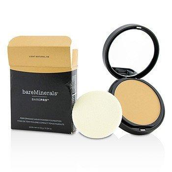 BarePro Performance Wear Powder Foundation - # 09 Light Natural (Box Slightly Damaged) (10g/0.34oz)