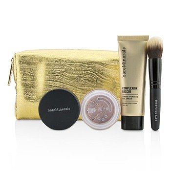 Take Me With You Complexion Rescue Try Me Set - # 01 Opal (3pcs+1bag)