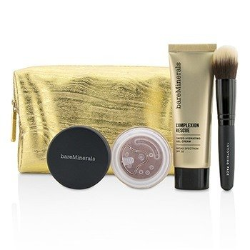 Take Me With You Complexion Rescue Try Me Set - # 02 Vanilla (3pcs+1bag)