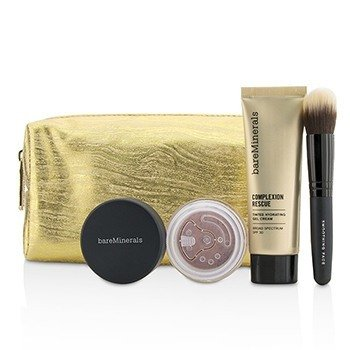 Take Me With You Complexion Rescue Try Me Set - # 05 Natural (3pcs+1bag)