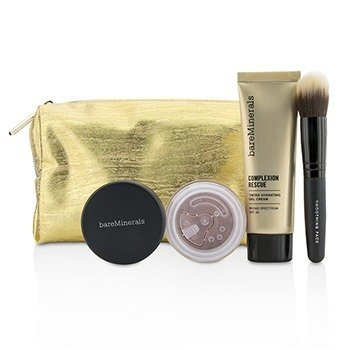 Take Me With You Complexion Rescue Try Me Set - # 07 Tan (3pcs+1bag)