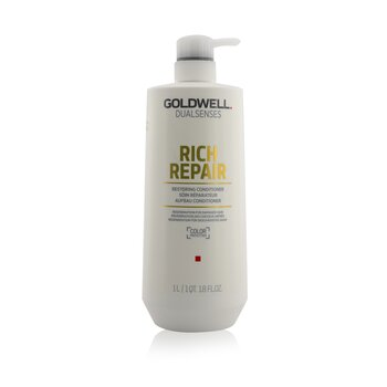Dual Senses Rich Repair Restoring Conditioner (Regeneration For Damaged Hair) (1000ml/33.8oz)