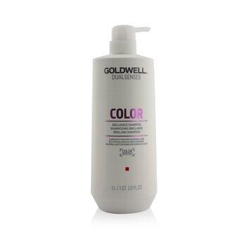 Dual Senses Color Brilliance Shampoo (Luminosity For Fine to Normal Hair) (1000ml/33.8oz)