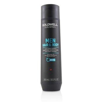 Dual Senses Men Hair & Body Shampoo (For All Hair Types) (300ml/10.1oz)