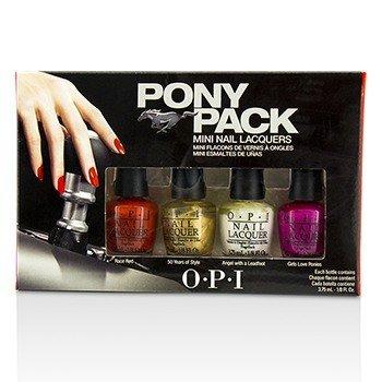 O.P.I Pony Pack Мини Лаки для Ногтей 4pcs