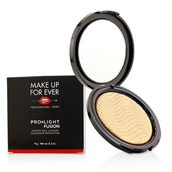 Make Up For Ever Pro Light Fusion Хайлайтер - # 2 (Golden) 9g/0.3oz