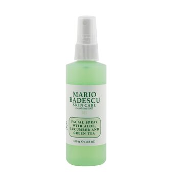 Facial Spray With Aloe, Cucumber And Green Tea - For All Skin Types (118ml/4oz)