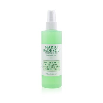 Facial Spray With Aloe, Cucumber And Green Tea - For All Skin Types (236ml/8oz)