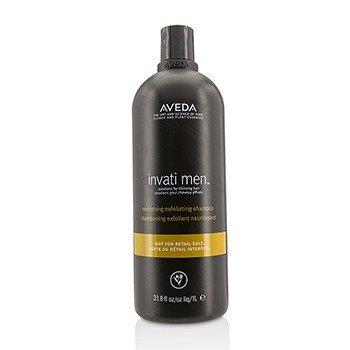 Aveda Invati Men Питательный Отшелушивающий Шампунь - для Редеющих Волос (Салонный Продукт) 1000ml/33.8oz